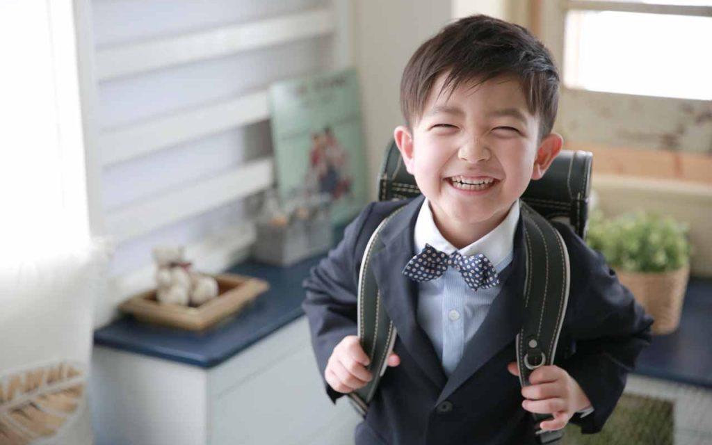 入園入学卒園卒業の記念写真