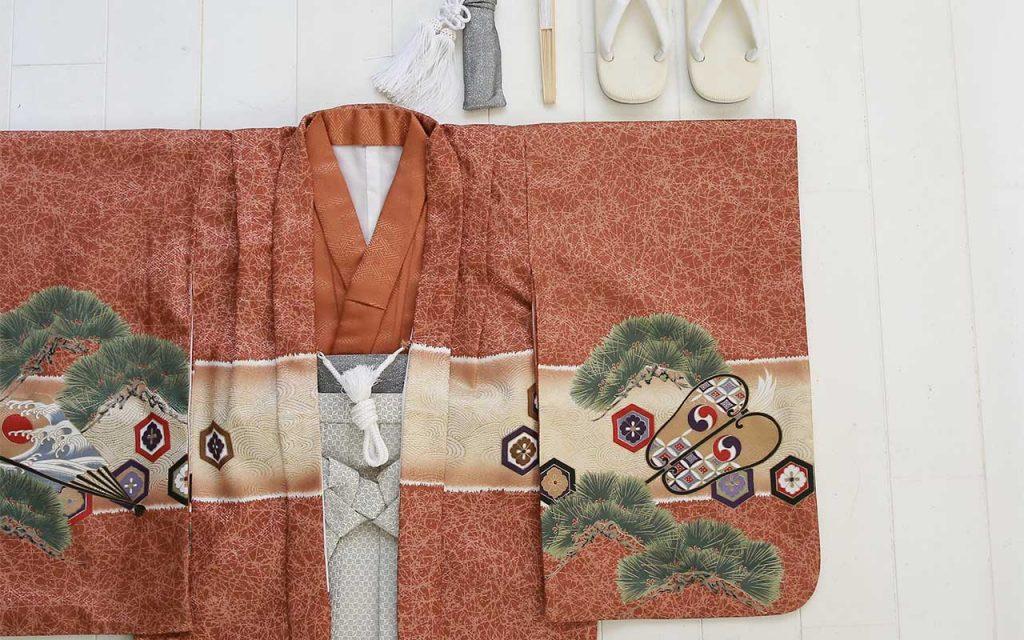 七五三の衣装(5歳の男の子用)