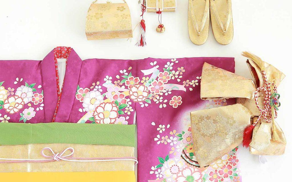 七五三の衣装(7歳の女の子用)