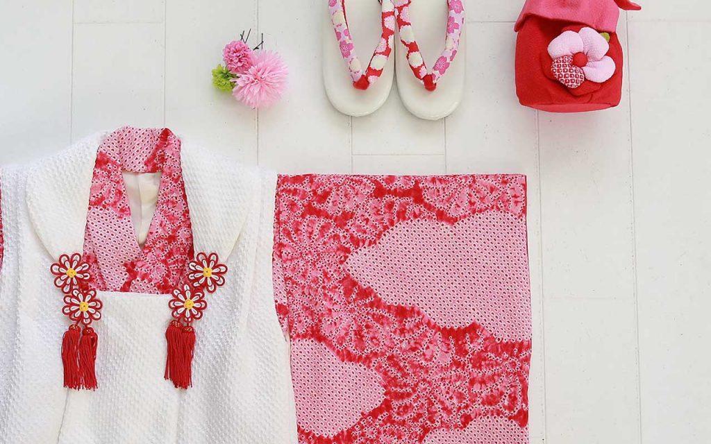 七五三の衣装(3歳女の子用)